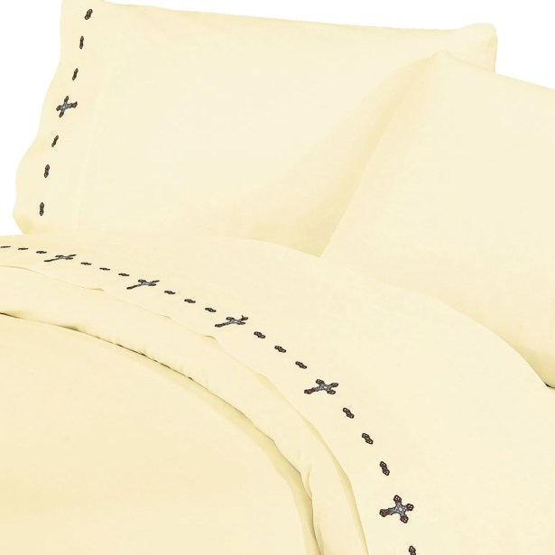 Galyean Solid 350 Thread Count Sheet Set Size: Queen