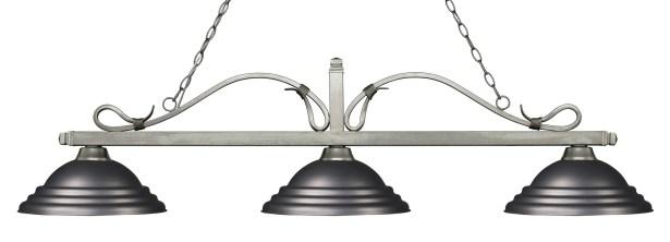 Cendejas 3-Light Billiard Light Shade Color: Stepped Olde Bronze