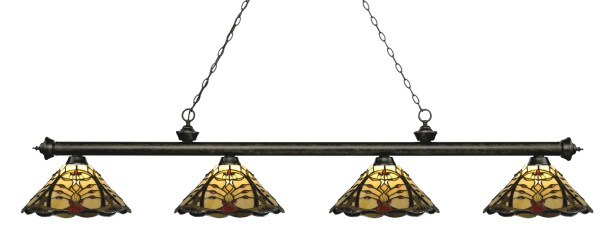 Billington 4-Light Billiard Light Color: Golden Bronze
