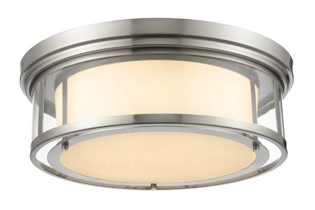 Ceniceros 4-Light Flush Mount Finish: Brushed Nickel
