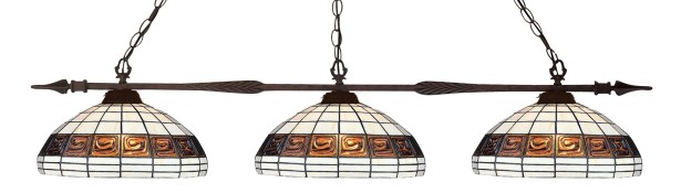 Beech Hill 3-Light Billiard Light
