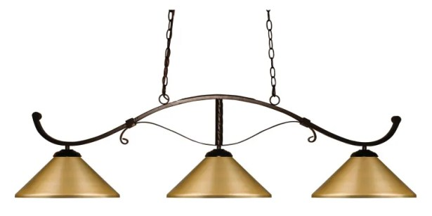 Bianca 3-Light Pool Table Light