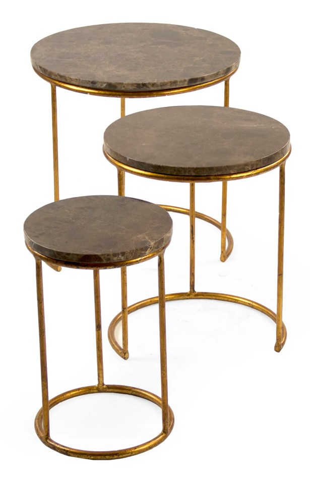 Clovis Nesting Tables (Set of 3)