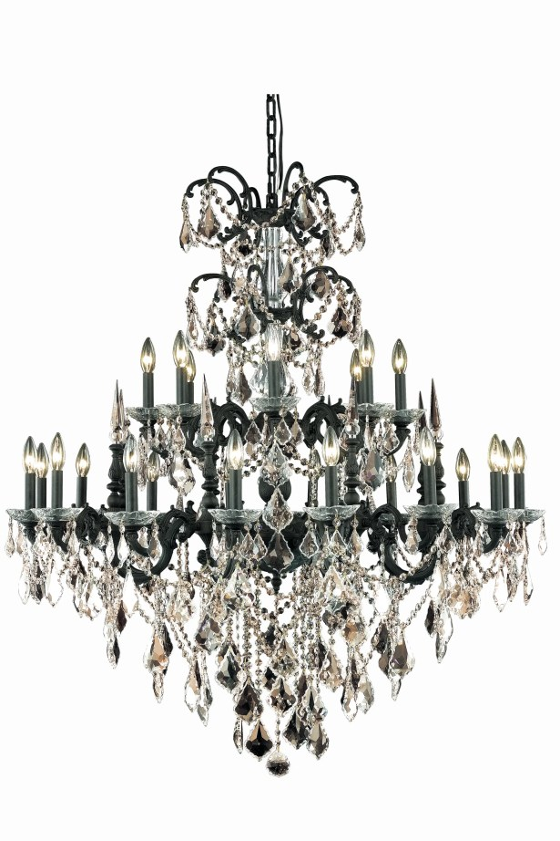 Cherie 24-Light Candle Style Chandelier Crystal Color / Crystal Trim: Crystal (Clear) / Strass Swarovski