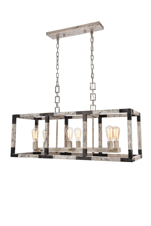 Vianey 6-Light Kitchen Island Pendant