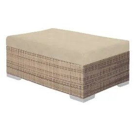Arzo Ottoman with Cushion Cushion Fabric: Luxor