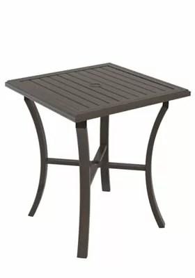 Banchetto Bar Table Frame Color: Moab