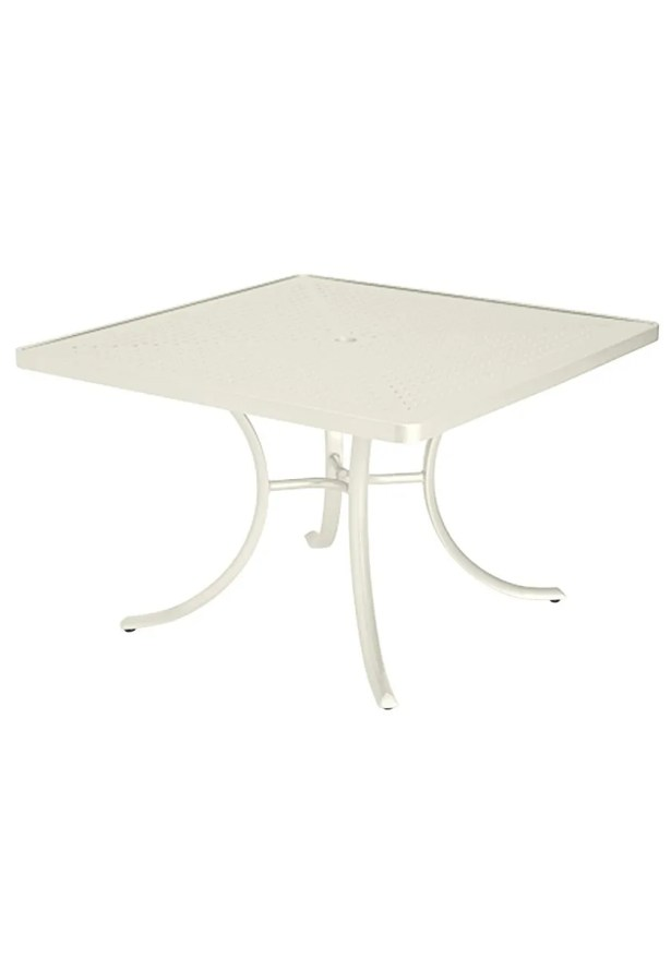 Boulevard Dining Table Frame Color: Parchment