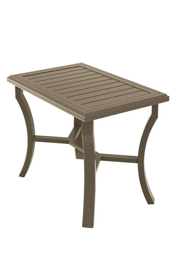 Banchetto Aluminum Bar Table Frame Color: Moab