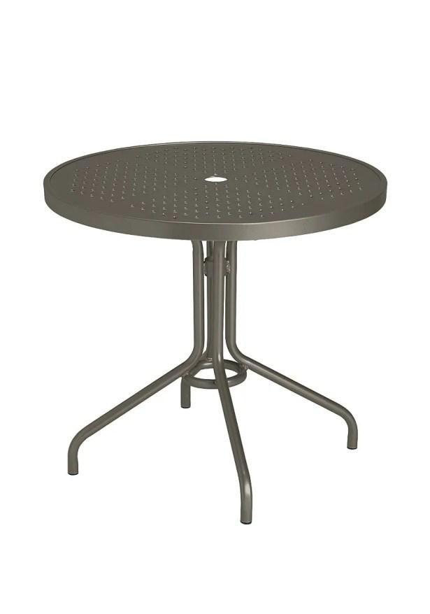 Boulevard Aluminum Bar Table Frame Color: Mocha