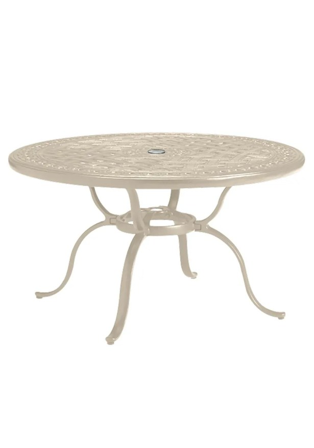 Cast Aluminum Dining Table Frame Color: Sonora