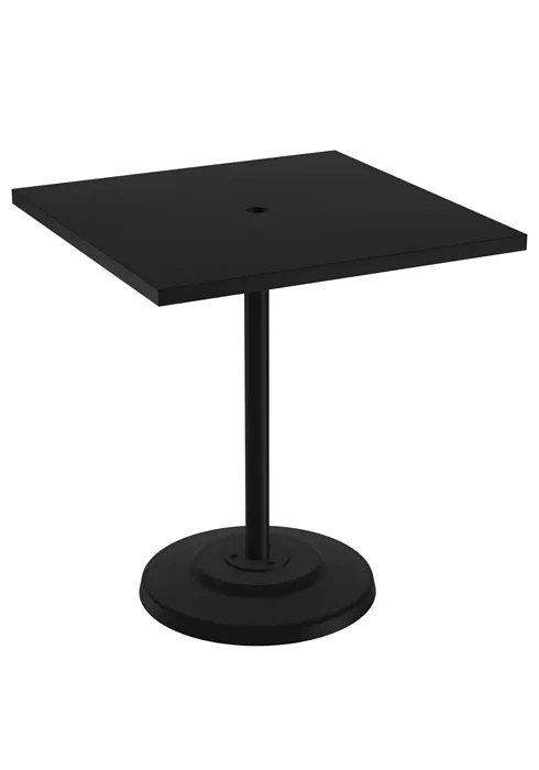 Ion Aluminum Dining Table Size: 28