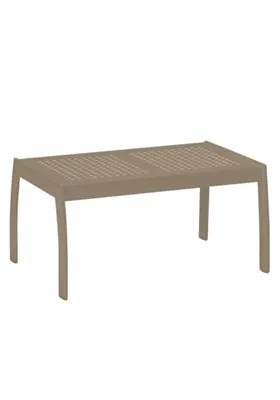 Boulevard  Aluminum Coffee Table Frame Color: Moab