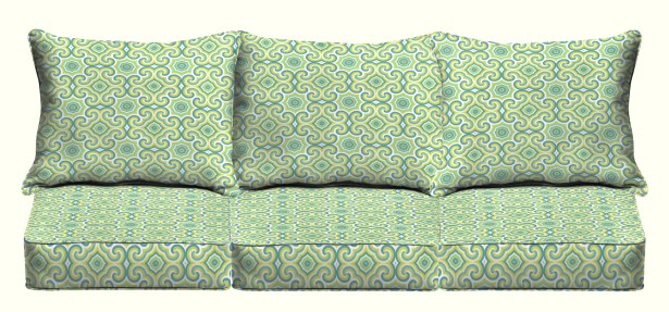 Zelda Indoor/Outdoor Sofa Cushion