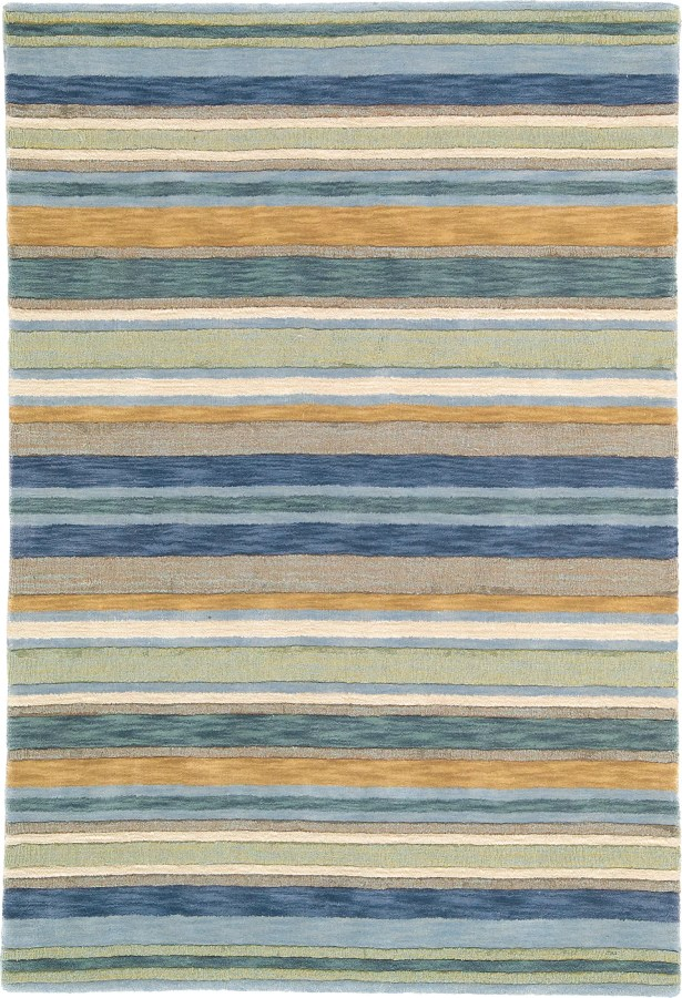Sheffield Sea Grass Striped Rug Rug Size: Rectangle 8' x 10'