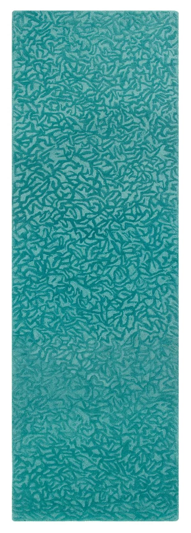 Crackle Hand-Tufted Peacock Area Rug Rug Size: Rectangle 5' x 8'