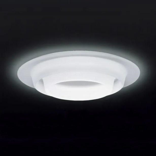 Sun LED Usa New Construction Recessed Housing Bulb Type: LED (0-10V 16W-4000K), Construction Type: USA New Construction, Finish: Satin White