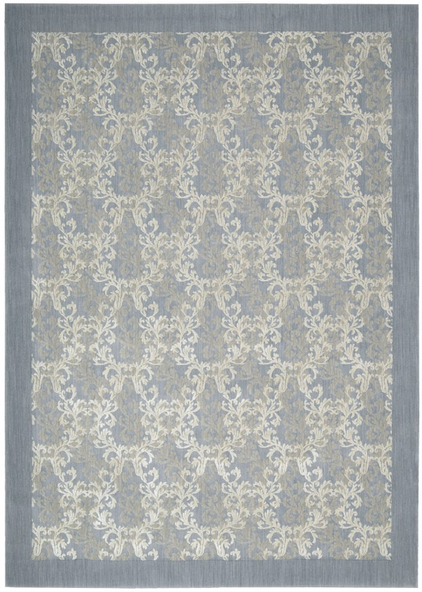 Hinsdale Sky Blue Area Rug Rug Size: Rectangle 5'3