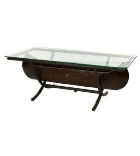 Chatham Canoe Cocktail Wooden Coffee Table