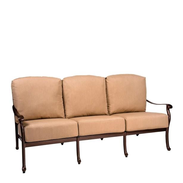 Casa Sofa with Cushions Fabric: Summit Spark
