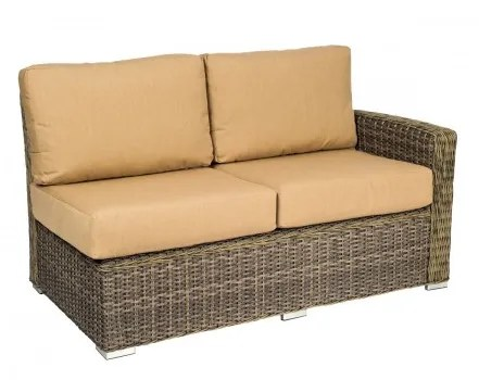 Bay Shore Right Arm Loveseat Sectional Piece with Cushions Fabric: Fairmount