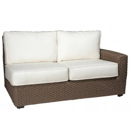 Augusta Right Arm Facing Loveseat Sectional with Cushions Fabric: Summit Peony