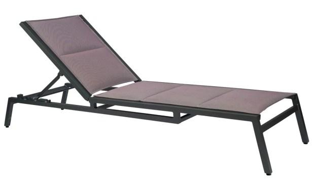 Palm Coast Sling Reclining Chaise Lounge