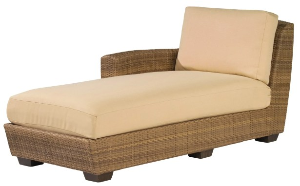 Saddleback Left Hand Chaise Lounge Sectional Piece Cushion Color: Spectrum Dove