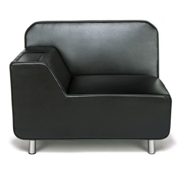 Serenity Series Lounge Chair Finish: Black