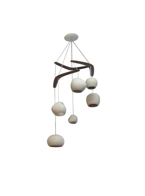 Newmanstown Boomerang 6-Light  LED  Pendant