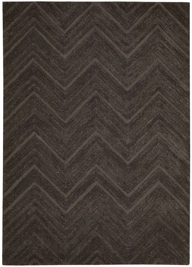Rocco Hand-Woven Brown Area Rug Rug Size: Rectangle 8' x 11'
