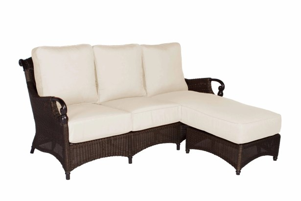 Montego Bay Chaise Lounge Sofa with Cushions