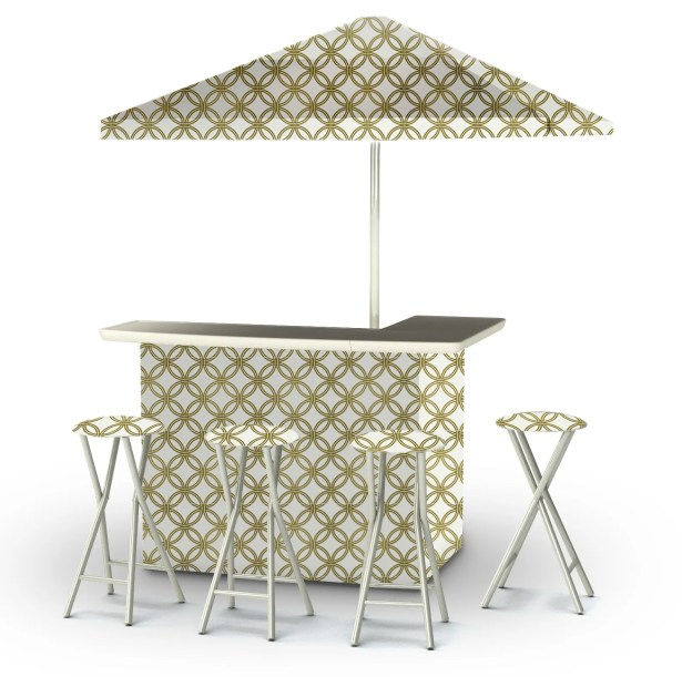 6 Piece Patio Bar Set