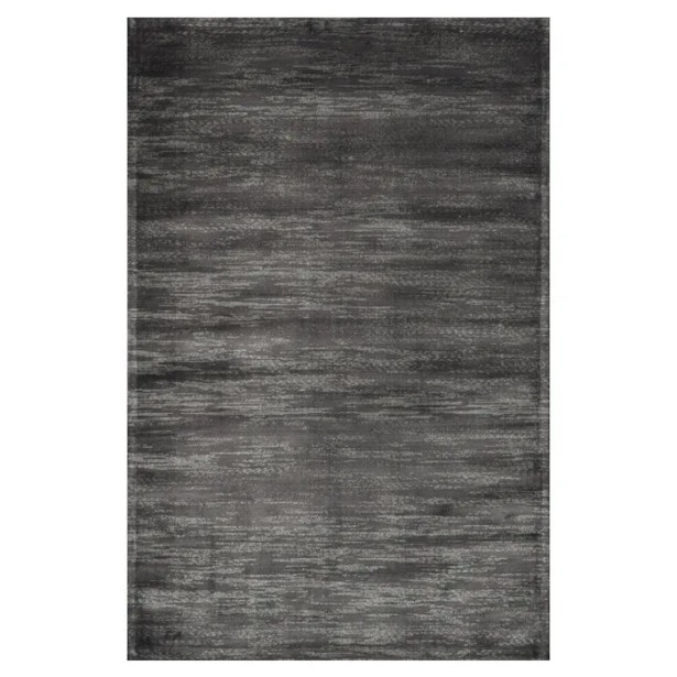 Keever Iron Gray Area Rug Rug Size: Rectangle 12' x 15'