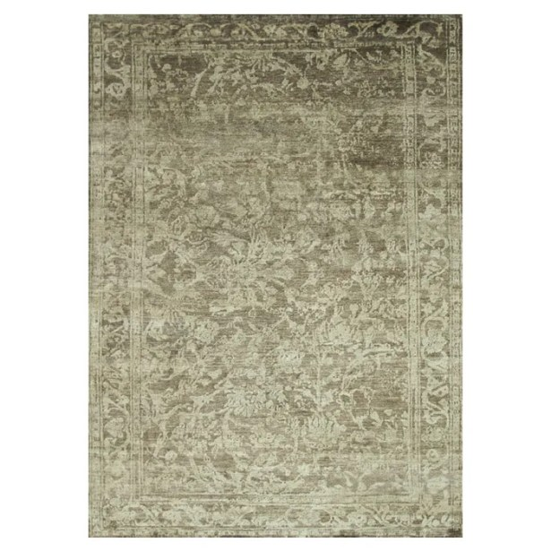 Leffel Hand-Knotted Pinecone Area Rug Rug Size: Rectangle 9'6