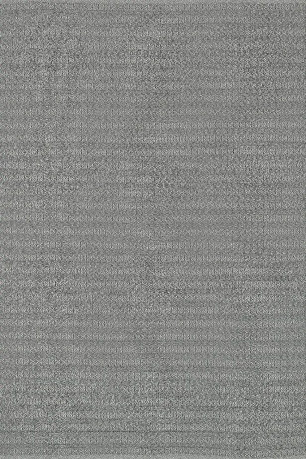Kirchoff Hand Woven Gray Indoor/Outdoor Area Rug Rug Size: Rectangle 5' x 7'6