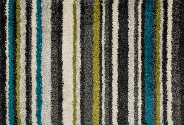 Nalder Gray/Green Area Rug Rug Size: Rectangle 5'2
