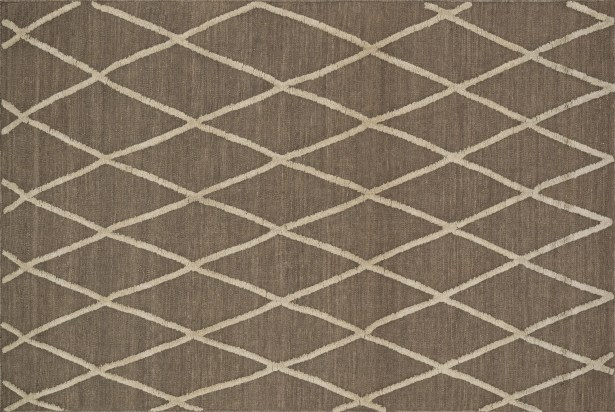 Mazur Hand-Woven Taupe Area Rug Rug Size: Rectangle 5' x 7'6