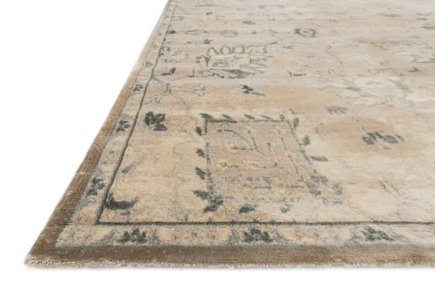 Keever Stone/Blue Area Rug Rug Size: Rectangle 12' x 15'