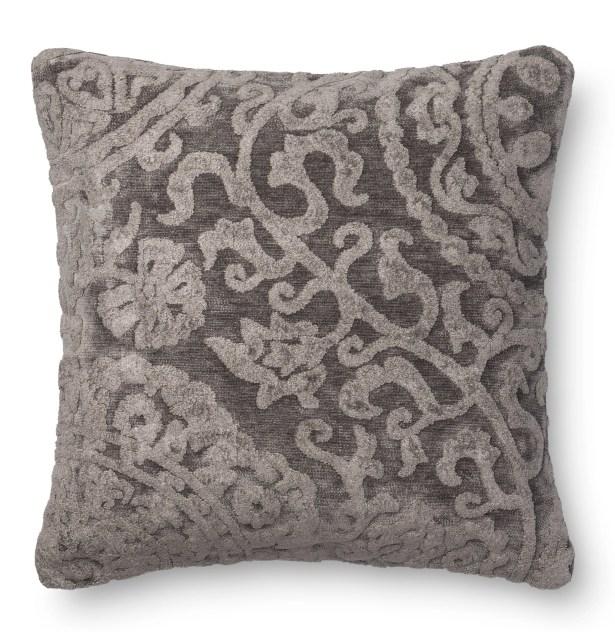 Leavens Throw Pillow Color: Ash