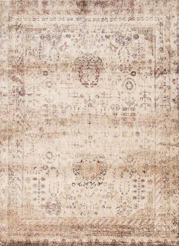 Zehner Ivory/Brown Area Rug Rug Size: Rectangle 12' x 15'