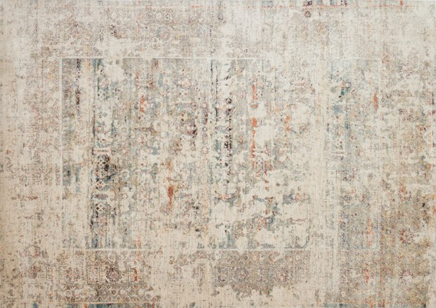 Zanders Ivory/Granite Area Rug Rug Size: Rectangle 5'3