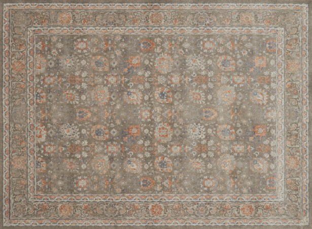 Adelbert Taupe Area Rug Rug Size: Rectangle 12' x 15'