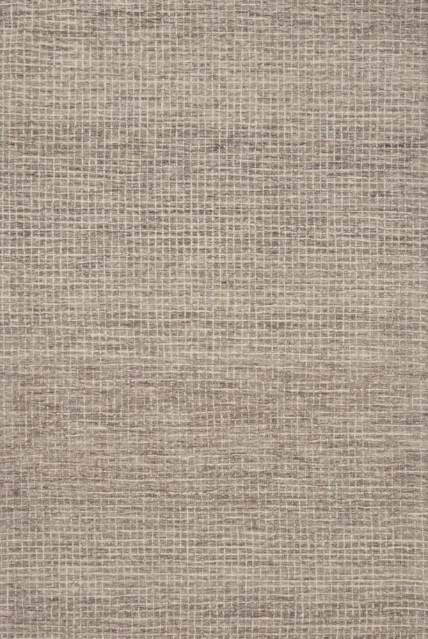 Bourque Hand-Hooked Wool Smoke Area Rug Rug Size: Rectangle 9'3