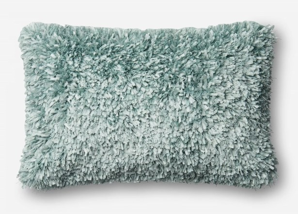Brookstead Lumbar Pillow Color: Light Blue, Fill Material: Down/Feather, Type: Pillow