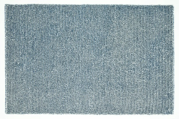 Baryzhikova Hand-Tufted Denim Blue Area Rug Rug Size: Rectangle 9'3