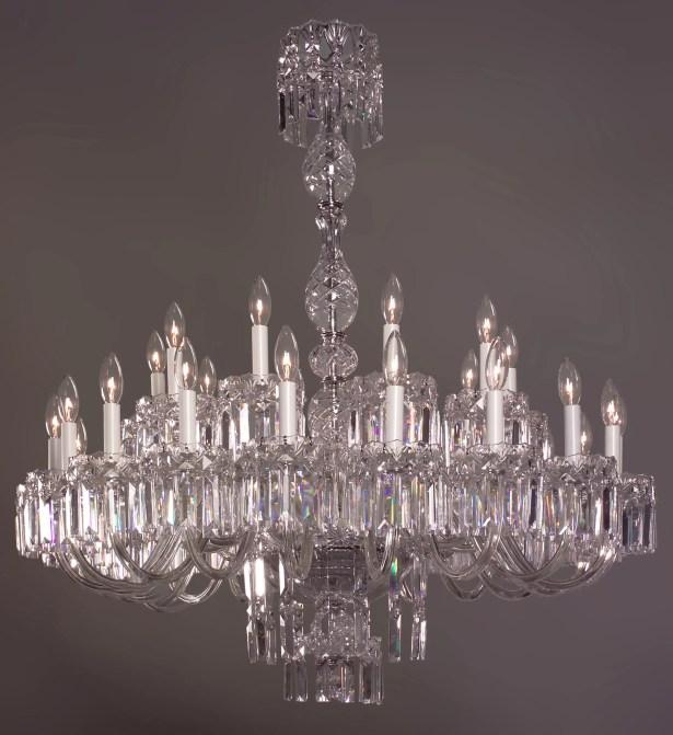 Buckingham 30-Light Candle Style Chandelier Crystal Type: Swarovski Spectra