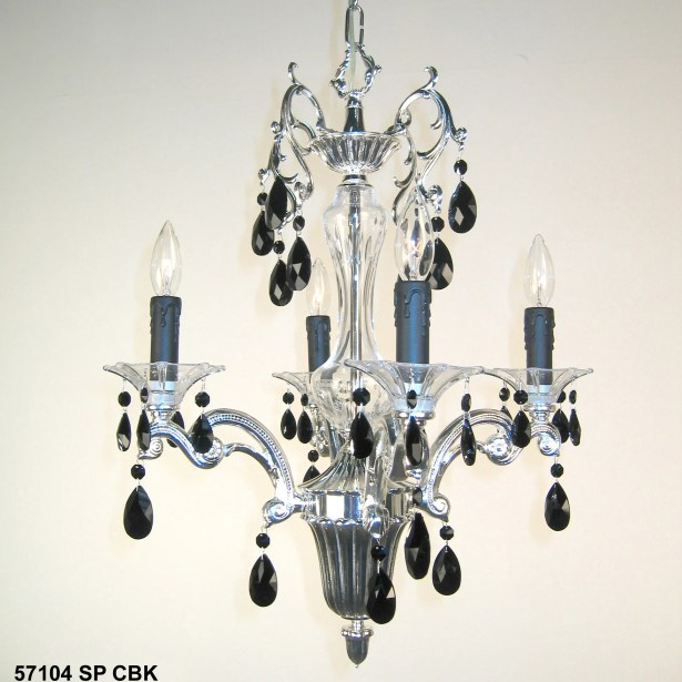 Via Firenze 4-Light Candle Style Chandelier Crystal Type: Crystalique, Finish: Roman Bronze