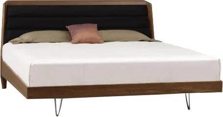 Canto Upholstered Platform Bed Color: Sisal Fabric, Size: King