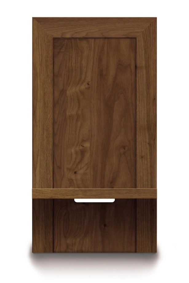 Moduluxe Nightstand Color: Saddle Cherry, Size: 35